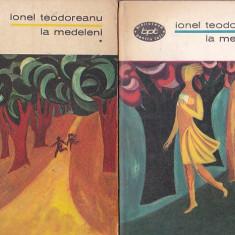 IONEL TEODOREANU - LA MEDELENI ( 4 VOL ) ( BPT 377-380 )