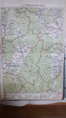 Harta Târgul Ocna, Târgul Săcuesc, Lăzărești, Petriceni, Plăeșii, 1929 foto