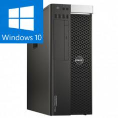 DELL PRECISION T5810 INTEL XEON E5 1620 V3 3.50GHZ 16GB DDR4 240 SSD + 2000GB HDD QUADRO M4000 8Gb 256 biti Windows 10 PRO
