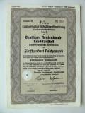 Titlu De Stat Obligatiune Germania-1938-500-Reichsmark