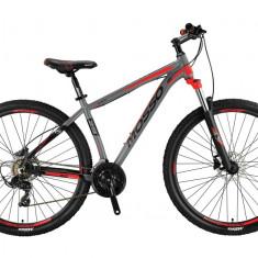 "Bicicleta MTB Mosso Wildfire LDT HYD , Roata 27.5"", Altus , Cadru 16"", Culoare GPB Cod:M01MSO2731616002"