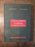 Tehnici curente de chirurgie stomatologică -Valerian Popescu, Corneliu Burlibașa