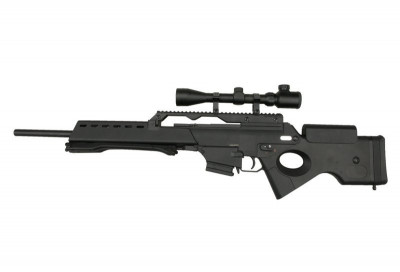 Replica Warrior W36 SL9 AEG cu luneta JG foto