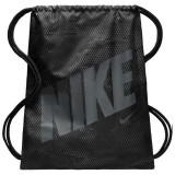 Sac de umar cu snur Nike negru