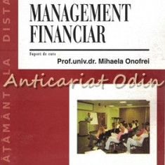 Management Financiar - Mihaela Onofrei - Suport De Curs ID