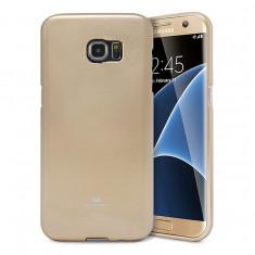 Husa Silicon Samsung S6 Edge Mercury Gold