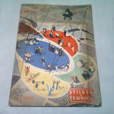 REVISTA STIINTE SI TEHNICA NR.7/1957