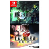 Final Fantasy 7 And 8 Remastered Twin Pack Nintendo Switch