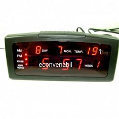 Ceas Electronic Digital cu Alarma si Termometru ZXSJ13A
