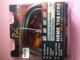 Cablu ProClass HQ 5m S-VHS- S-Video SVHS- 4 pol. DIN pentru  TV PC Notebook TFT