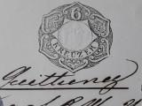 TIMBRU FISCAL VECHI - STAMPILA FISCALA - 6 KREUZER - AUSTRIA INCEPUT DE 1800, Nestampilat