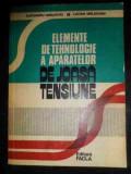 Elemente De Tehnologie A Aparatelor De Joasa Tensiune - Al. Vasilievici L. Moldovan ,541865