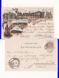 Timisoara- 1897- Sinagoga.  Iudaica-litografie, rara