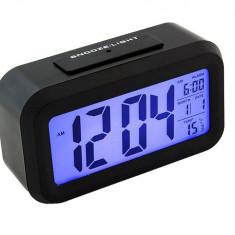 Ceas de Camera Digital cu Afisaj LCD Iluminat
