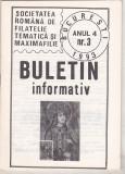 bnk fil Soc. romana de filatelie tematica si maximafilie - buletin info 3/1993