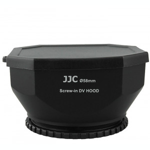​JJC LH-DV58B Parasolar filet 58mm pentru camere video