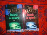 Datorie si onoare 2 volume- Tom Clancy 1142pagini
