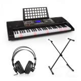SCHUBERT Etude 450, set de pian electronic de formare, căști de studio, suport pentru pian