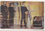Bnk cp Constanta - Muzeul Marinei Romane - Marinari la posturi - necirculata, Printata