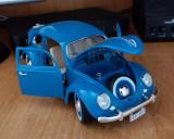 Macheta VW Volkswagen Beetle Buburuza 1955 1:18 Bburago Diecast Noua
