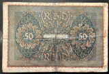 Bancnota istorica 50 MARCI - GERMANIA, anul 1919  *cod 473
