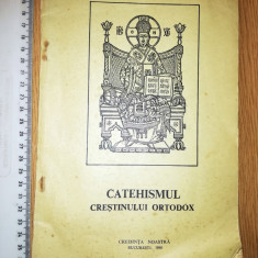 REVISTA RELIGIE CATEHISMUL CRESTIN ORTODOX 1990-IRINEU MIHALCESCU EP.MOLDOVEI