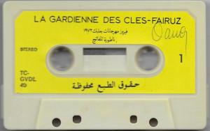 Caseta Fairuz – La Gardienne Des Cles (Highlights), originala