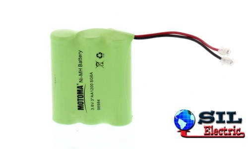 Acumulator NiMH 3xAA 3.6V 1200mAh cu conector universal Motoma