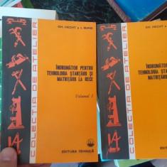 Indrumator pentru tehnologia stantarii si matritarii la rece – Gh. Hecht, 2 volume