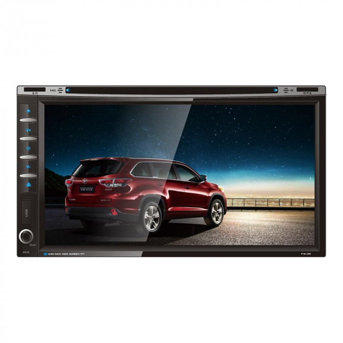 Multimedia Player auto bluetooth Sound FY-6129, 2 DIN, Screen Mirror, slot SD, USB