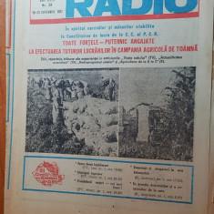 revista tele-radio saptamana 19-25 septembrie 1982