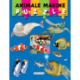 Carte puzzle - animale marine PlayLearn Toys