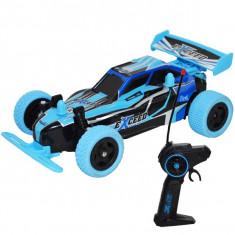 Masina de curse cu telecomanda RC,1:20 2,4GHz , acumulator reincarcabil, 19x11x6,5 Albastru