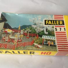 Macheta miniaturi Faller 571 HO, RFG, accesorii curte / gradina, diorama