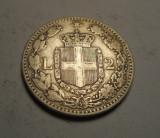 Italia 2 Lire 1884 Patina Frumoasa, Europa