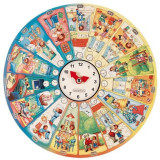 Puzzle circular Invata ceasul Beleduc 48 piese