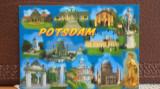 GERMANIA - POTSDAM - 12 VEDERI DIN ORAS CU MONUMENTE IMPORTANTE.