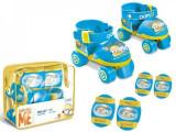 Role copii Mondo ajustabile Minioni 4 roti cu protectii