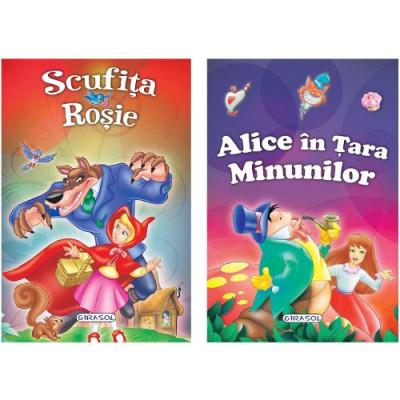 2 Povesti: Scufita Rosie si Alice in Tara Minunilor foto