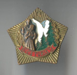 Insigna Turism - Drumetie - Alpinism -  CCS TURIST II