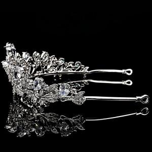 Tiara placata cu Aur 18K si Diamante, Melissa