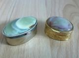 Cutie pastile - alama + onix - 2 bucati