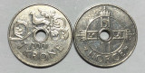 Moneda Norvegia 1 Coroana 2001