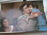 Film/teatru Romania - fotografie originala (25x19) - Parasutistii (Fl. Piersic)