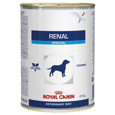 Hrana umeda pentru caini, Royal Vet Canin Renal Conserva, 410 g foto