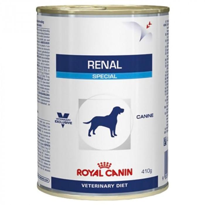 Hrana umeda pentru caini, Royal Vet Canin Renal Conserva, 410 g