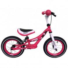 Bicicleta fara pedale WB-999P Pink Baby Mix