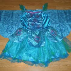 Costum carnaval serbare fluture fluturas pentru copii de 9-10 ani, Din imagine