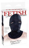 Fetish Fantasy Series Zipper Face Hood