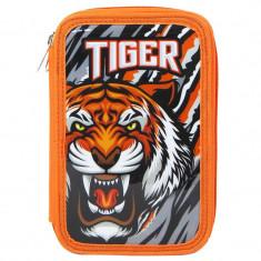 Penar baieti Tiger, 20 cm, Negru/Portocaliu